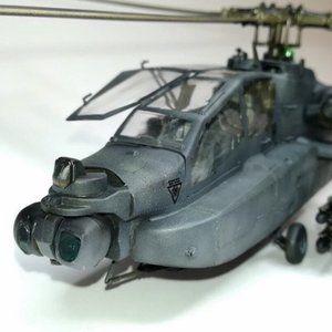 Scale model aircraft AH-64 Apache